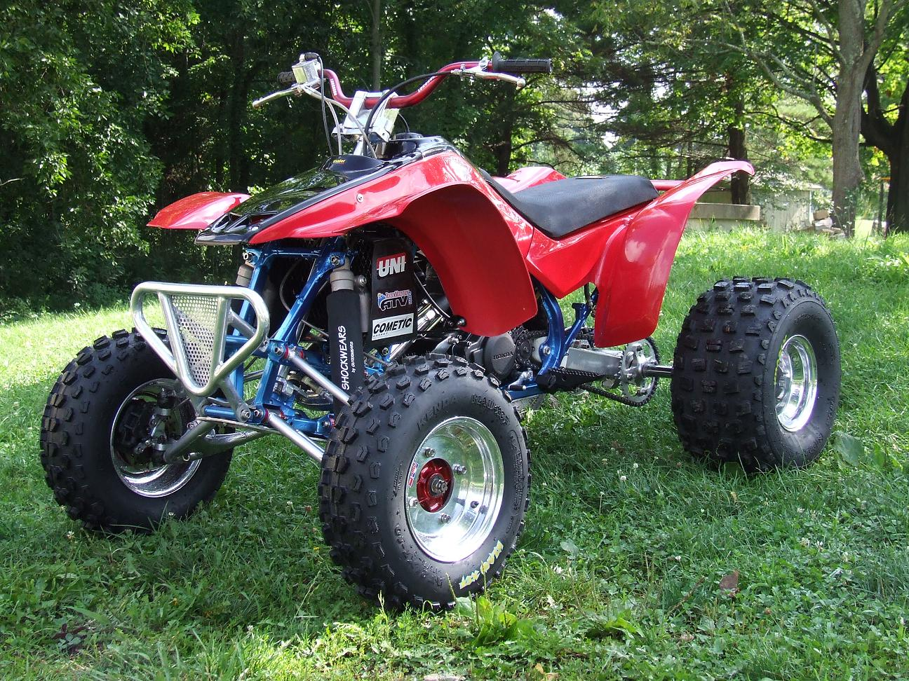 This is my 1987 Honda TRX 250R
